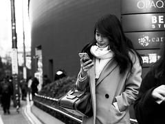 Osaka street! (takana1964) Tags: streetphotography snap streetsnap street snapshot streetshot citysnap citystreet city cityphotography blackandwhite bw monochrome osakacity japan olympus
