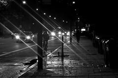 Week 45. Winter Lights (hmcgee18) Tags: blackwhite bike light london winter water textures 52weeksofphotography nikon d3400