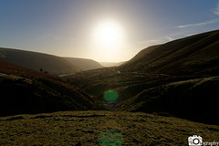 Black Mountain Valley (Mike House Photography) Tags: black mountains landscape photography brecon beacons view panorama hills walks hiking outdoors sunny bright brisk morning glow blue sky grass trees valley clouds white