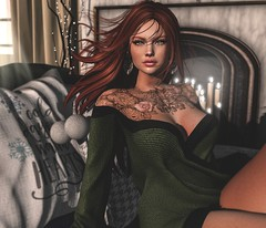 Only Love Can Hurt Like This (Arwen Clarity) Tags: sllooksgoodtoday secondlife sl slblog pose people 2ndlife second life mesh maitreya blogs blog blogger bloggers blogging green eyes redhead tattoo blueberry whitewidow kibitz merak wholewheat foxcity