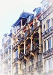 Rue Jacques Bingen – Detail … (marc.barrot) Tags: architecture building batignolles france paris 75017 ruejacquesbingen