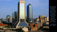 Jacksonville, Florida (Humbly Serving Christ) Tags: jacksonville florida jax fl downtown cbd city urban skyscrapers skyline towers buildings skyscraper landscape viewfromahotel hyattregency hotel us usa unitedstates america