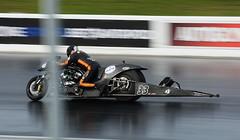 Nitro Supertwin_3873 (Fast an' Bulbous) Tags: bike biker moto motorcycle fast speed power acceleration drag strip race track outdoor nikon d7100 gimp santapod motorsport panning