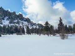 Otkliknoy greben 2 (Artemius Ber) Tags: taganay таганай урал ural winter snow mobilephoto sky mountain rocks