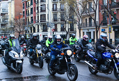 IMG_5118-1 (Goldenwaters) Tags: madrid motor motorcycle motorbike strike parade capitalcity featureshoot feature subjective city streetphotography spain españa transport citylife urban event roadtrip cyclist 50d