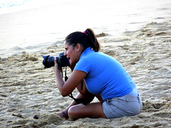 The Wedding Photographer (knightbefore_99) Tags: mexico mexican oaxaca tropical cool beach playa plage wedding photographer art camera pose funny hilarious blue girl
