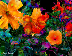 Radiance (brillianthues) Tags: fractal flowers floral nature garden abstract colorful collage photography photmanuplation photoshop
