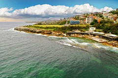 Trennary Reserve & Wylie's Mixed Gender Ocean Baths, Coogee Beach, Sydney, NSW (Black Diamond Images) Tags: wyliesmixedgenderoceanbaths wyliesbaths mixedgenderoceanbaths coogeebeach oceanbaths oceanpool swimmingpool sydney nsw heritagelisted tidalswimmingpool coogee australia djimavicpro2 djimavic2pro mavic2prodrone mavic2pro hasselbladl1d20cdrone aerialview aerialphoto aerialphotography bwimages water seascape trennaryreserve notes