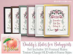 Nectar - Daddy's Rules MP AD (Hayden Jae ~ Nectar ~) Tags: secondlife babygirl daddy daddydom kawaii girly homedecor cute