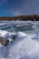 Lonely Views (maureen.elliott) Tags: landscape winterlandscape frozen ice georgianbay lionshead brucepeninsula shoreline