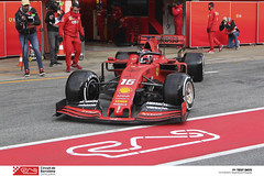 1902190105_leclerc (Circuit de Barcelona-Catalunya) Tags: f1 formula1 automobilisme circuitdebarcelonacatalunya barcelona montmelo fia fea fca racc mercedes ferrari redbull tororosso mclaren williams pirelli hass racingpoint rodadeter catalunyaspain