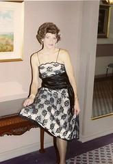 A Real Oldie, From 1989 (Laurette Victoria) Tags: dress shoulders brunette woman laurette chichapter triess