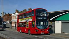 Hybrid To Harrow (londonbusexplorer) Tags: arriva london volvo b5lh wrightbus gemini 2 hv76 lj62bwp 340 harrow edgware tfl buses