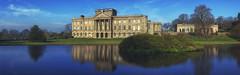 Lyme Park (seantindale) Tags: lymepark nationaltrust uk panoramic olympus omdem1markii srbphotographic polariser reflection waterrefection bluesky winter sunshine
