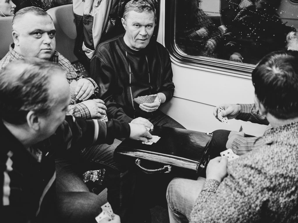 фото: Suburban train to Moscow