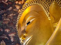 พระพุทธไสยาสน์....Bouddha.Bangkok (geolis06) Tags: geolis06 asie asia thailande bangkok temple bouddha buddha พระพุทธไสยาสน์watpophrachettuphonwimonmangkhalaramratchaworamahawihan parinirvana