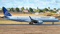Copa Airlines | HP-1569CMP | Embraer 190AR (ERJ 190-100 IGW) | BGI (Terris Scott Photography) Tags: aircraft airplane jet aviation plane spotting nikon d750 travel barbados jetliner copa airlines boeing tamron 70200mm f28 panama city embraer 190