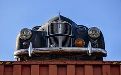 Austin A40 10 CWT Pick-Up (1947-1953) (SonjaPetersonPh♡tography) Tags: oldcars scrapmetal rust cars rustyrelics decay antiques oldclassiccars bc britishcolumbia canada nikond5300 nikon metal carssforsale rusty rustic scrap junk junkyard oldclassics