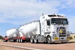 Crawfords Freightlines - Kenworth K200 (Scottyb28) Tags: kenworth k200 roadtrain augathella truck trucks trucking highway haulage diesel loaded qld outback