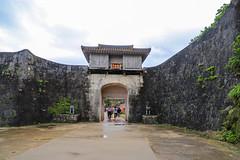 Kankaimon 歡會門 (YY) Tags: shuricastle okinawa japan ryukyu ryukyukingdom castle naha 首里城 那霸 琉球 琉球王國 日本 沖繩 gate wall