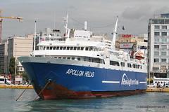 Ship. Apollon Hellas 8807105 (dickodt65) Tags: piraeus ship ferry roro apollon hellas