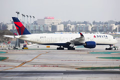 Delta Air Lines Airbus A350-941 N505DN (Mark Harris photography) Tags: spotting lax la canon 5d aviation delta dl dal