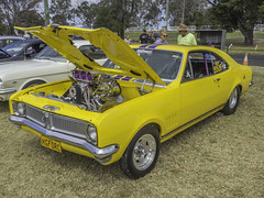 1970 CUSTOM Holden HG Series Monaro Coupe (Paul Leader - Paulie's Time Off Photography) Tags: bargopsshowshine holden holdenhgseriesmonarocoupe nswhgforc yellow olympus olympusem10 paulleader car vehicle automobile motorvehicle transport carshow classiccar customcar nsw newsouthwales australia