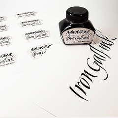 Etichetta per Handwritmic - Iron Gall ink - www.calligraphystore.it