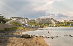 Дальневосточный федеральный университет (vikkay) Tags: владивосток пляж берег море двфу университет кампус архитектура аякс