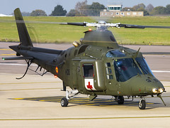 Belgian Air Component   Agusta A109BA   H35 (Bradley's Aviation Photography) Tags: egsh nwi norwich norwichairport canon70d helicopters helicopter heli military mil aircraft aviation rotors belgianaircomponent agustaa109ho h35 a109