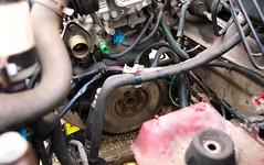 As disassembled as it gets... (Skylark92) Tags: nederland netherlands holland noordholland northholland amsterdam peugeot 106 14i accent tsjl88 1998 onk diy gearbox change doe het zelf versnellingsbak wissel