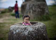 Little girl in a jar, Plain of jars, Phonsavan, Laos (Eric Lafforgue) Tags: ancient annamesecordillera antique archaeology archeological asia asian beautyinnature cemetery child colourimage communist container damaged day developingcountries environment gravestone history horizontal indigenousculture jar landscape laos laotianculture meuanglao nonurbanscene old outdoors placeofinterest plainofjars rock ruralscene southeastasia stone thonghaihin tourism tourist tranquilscene traveldestinations twopeople unescoworldheritagesite urn xiengkhuangprovince phonsavan