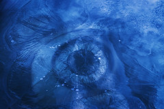 Trapped In Ice (Southern Darlin') Tags: art abstract ice clock eye trapped photography overlay texture photoshop