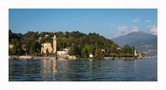 Tremezzina (www.halkaphoto.com) Tags: europe italy lombardy lakecomo lagodicomo lake mountains alps town church shore shoreline trees nikon d850 zeiss milvus 50mmf14 tremezzo tremezzina distagon