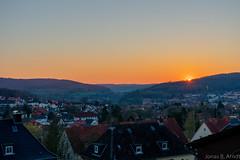 Sonnenuntergang in Hann. Münden (Jonbene) Tags: sonnenuntergang nikon lower d3400 landscape saxony niedersachsen hannmünden