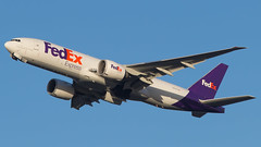 CDG - Fedex Boeing 777-200 Freighter N850FD (Eyal Zarrad) Tags: b772f fedex lfpg n850fd pariscdg aircraft airport aviation airline airlines aeroplane avion eyal zarrad airplane spotting avgeek spotter airliner airliners dslr flughafen planespotting plane transportation transport photography aeropuerto cdg france 2018 paris charels de gaule canon 7d mk2 jet jetliner