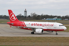 TC-ATD Airbus A319-112 AtlasGlobal Stansted 02nd March 2019 (michael_hibbins) Tags: tcatd airbus a319112 atlasglobal stansted 02nd march 2019 aeroplane aerospace aircraft aviation airplane air aero airfields airport airports civil commercial passanger passenger jet jets tc turkey turkish
