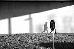 Roundabout (jaume zamorano) Tags: blackandwhite blancoynegro blackwhite blackandwhitephotography blackandwhitephoto bw d5500 lleida sidewaysupsidedownorbackwards monochrome monocromo muro nikon noiretblanc nikonistas pov people road shadow street streetphotography streetphoto streetphotoblackandwhite streetphotograph urban urbana