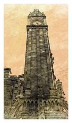 Big Albert! (Oul Gundog) Tags: belfast clock tower time big albert northern ireland uk ulster ladies sailors inclination