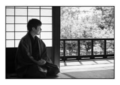 Shodensanso Zen (Adrian Tischler) Tags: japan zen shodensanso kyoto blackwhite monochrome peaceful serene tranquil meditative