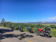 British bike on the road... (Menagoesenog) Tags: motocyclette bike ancienne vintage anglaise british motorcycle