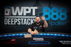 Stefano Schiano, FansUnite Last Longer Winner (World Poker Tour) Tags: 888poker wptds malta world poker tour deepstacks day 3 final table