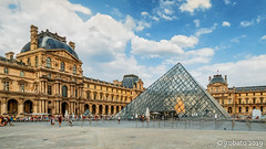 The Louvre (orgazmo) Tags: paris france louvre museums architectural architecture landmarks historical urbanlandscape landscapes city buildings structures olympus omd em1mk2 panasonic leica leicadgvarioelmarit818mmf284asph micro43s m43s