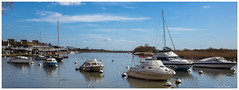 Christchurch Quay (clive_metcalfe) Tags: christchurch dorset england uk boats quay water sailing yacht river sky clouds waterscape