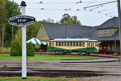 Seashore Trolley Museum #434 (Jim Strain) Tags: jmstrain trolley tram streetcar railway railroad dallas seashore museum kennebunkport maine