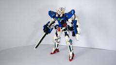 LEGO Gundam Exia GN-001 (demon1408) Tags: lego gundam exia 00 gn 01 seven swords setsuna celestial being figure mecha moc creation brick hero factory bionicle technic