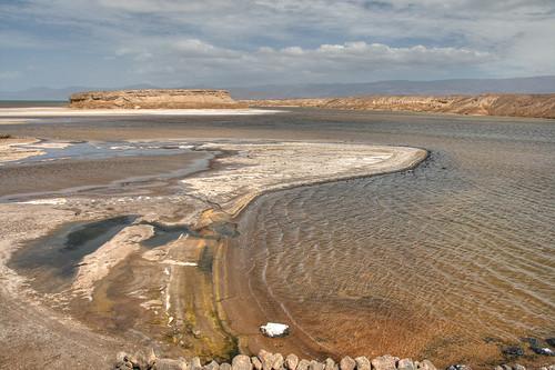 Rive du lac Assal