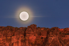 Moon Rise Over Flat Iron (Carl Cohen_Pics) Tags: moon moonrise mountain mountains superstitionmountain pinalcounty apachejunction cactus flatiron tontonationalforest canon canon7dmarkii sky southwest sigma sigmaapo150500mmf563apodgoshsm nature night naturephotography nightphotography nightsky luna lunar