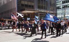 NYC Tartan Day Parade (neilsonabeel) Tags: nikonn90s nikon nikkor film analogue parade tartanday scotland newyorkcity manhattan zoom