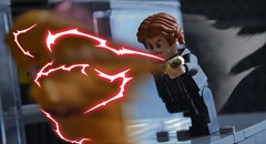 Eobard Thawne (Matthew Candey) Tags: eobard thawne reverse flash lego dc comics speedster red lightning ring zoom